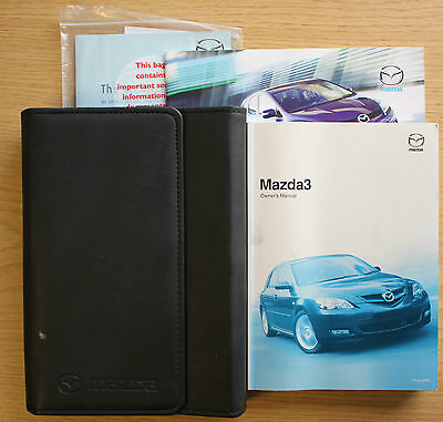 Mazda 3 Handbook Owners Manual Wallet 2006 -2009 Pack # 7545