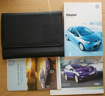 Mazda 2 Handbook Owners Manual Wallet 2007-2010 Pack 9902