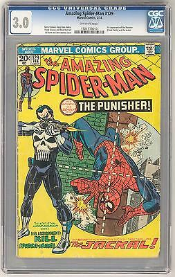 Amazing Spider-Man #129 CGC 3.0 1st Appearance of Punisher