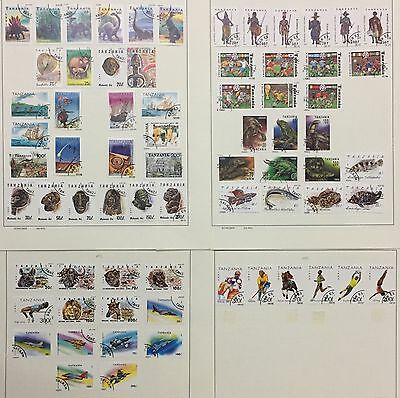 Tanzania Selection 1991/1993 Lot Of 70 Used Stamps Also Rare Splendid