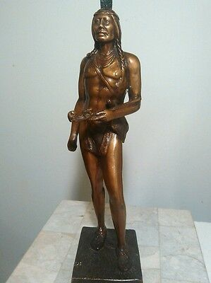 Massasoit-Chief Indian of the Wampanoag tribe, Antique Bronze - Dallin 1920's
