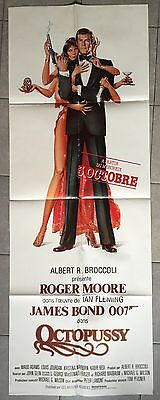 Affiche OCTOPUSSY John Glen ROGER MOORE James Bond 60x160cm