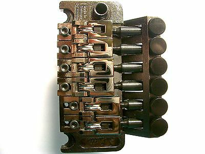 Schaller Double Locking Tremolo Ruthenium