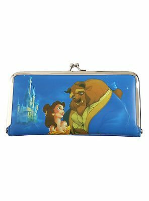 Disney Beauty And The Beast Kisslock Wallet Belle - NWT