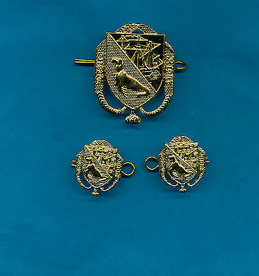 Genuine Military Army Badges FALKLAND ISLAND DEFENCE FORCE .MINT