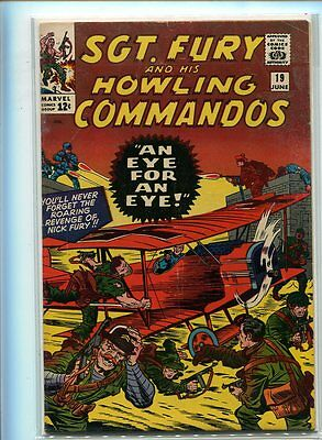 Sgt. Fury #19 Solid Grade Action Packed Cover