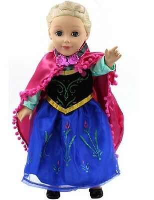 Princess dress  for Our Generation, American Girl, Journey Girl Dolls