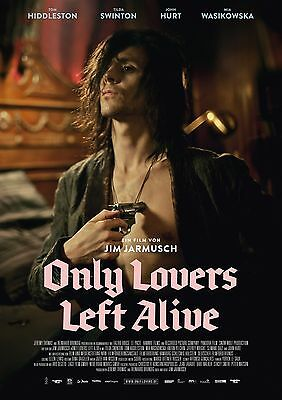 """Only Lovers Left Alive movie poster - Tom Hiddleston poster (German) 12"""" x 17"""""""