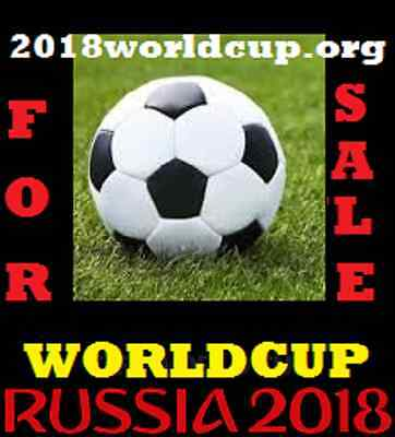 2018WorldCup.org - Premium Domain For Sale