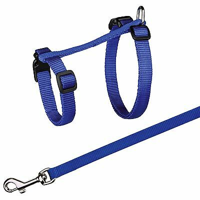 Trixie Extra Large Blue Cat Harness and Lead XL 41960
