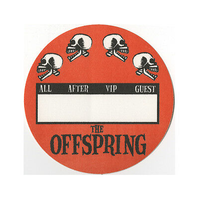The Offspring authentic ALL ACCESS 2000's tour Backstage Pass