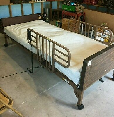 Electric Hospital Bed with Mattress, EUC
