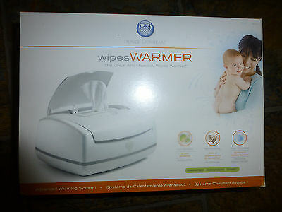 Prince Lionheart White Premium Wipes Warmer With Night Light Baby/Infant