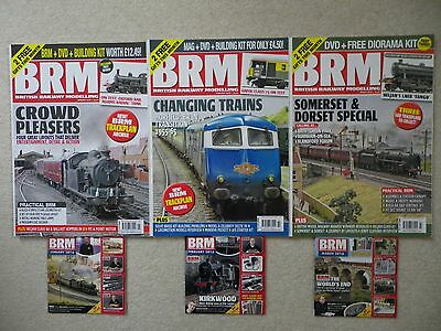 British Railway Modelling magazines & DVDs January, February, March 2016
