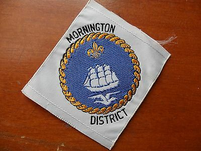 Mornington District Australia Scout Cloth Badge #