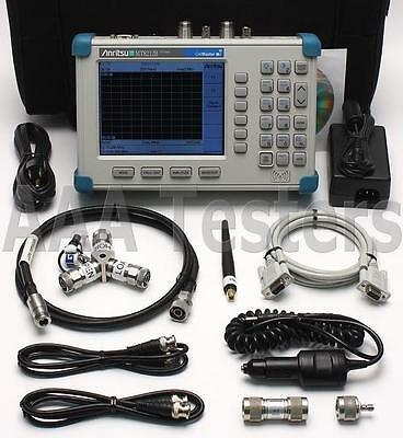 Anritsu CellMaster MT8212B Cable Antenna & Base Station Analyzer w/ GPS MT8212
