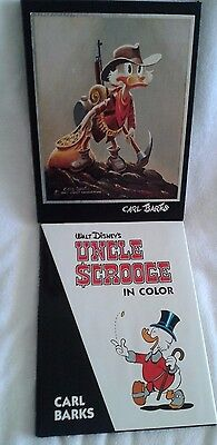 UNCLE SCROOGE IN COLOR Carl Barks Slipcase McDuck Walt Disney Another Rainbow