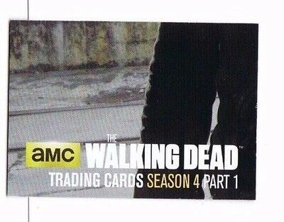 2016 Cryptozoic WALKING DEAD Season 4 PART 1 Terminus Puzzle Insert Z7