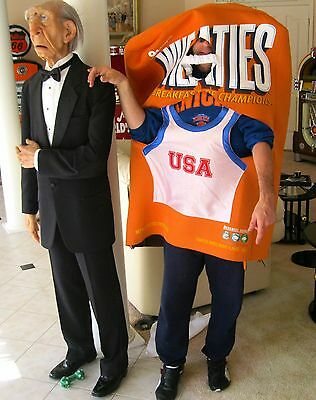 vintage WHEATIES CEREAL COSTUME ~ cool Advertising Collectible!