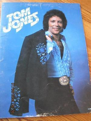 Tom Jones Large Souvenir Booklet Glossy 20 page 1970's ??