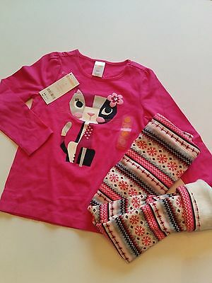 NEW GYMBOREE girls Kitty long sleeve tee Size 4 5 7 Winter