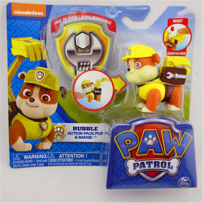 Paw Patrol Action Pack Pup Deformation dog backpack projectile toys and shield-B