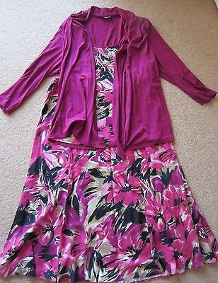 Marks and Spencer wedding outfit/mother of the bride outfit size 16
