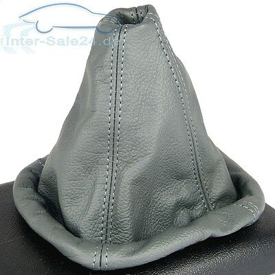 Shift gaiter fits Golf 2 3 Passat 35i Polo 6N 100% Real leather GREY