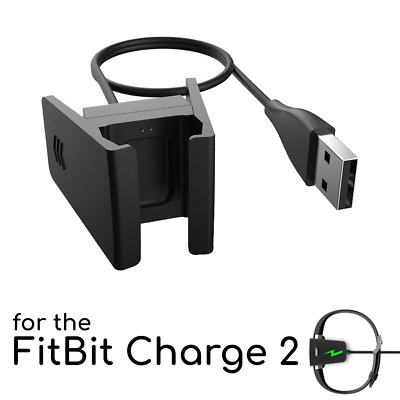 Replacement USB Power Charger Charging Cable For FitBit CHARGE 2 Fitness Tracker