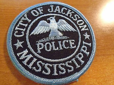 City Of Jackson Mississippi Police Embroidered Patch