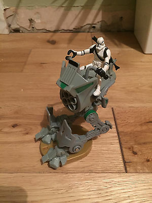 Star Wars Rare Clone Wars At-Rt Walker With Clone Trooper