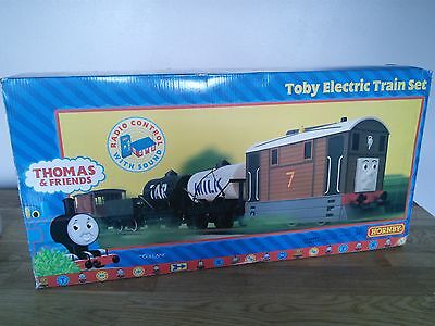 Hornby Thomas and friends toby electric train set 00 gauge
