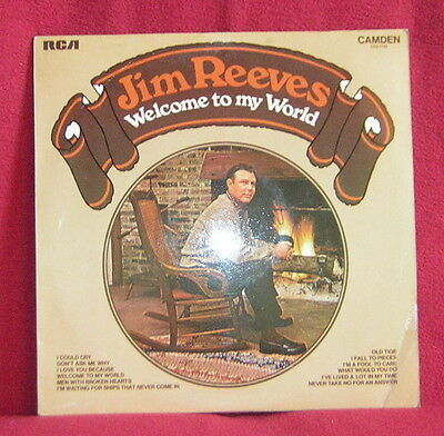 Jim Reeves - Welcome To My World Vinyl LP