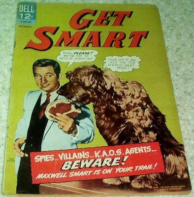 Get Smart 2, (FN 6.0) 1966 photo cover! Ditko art! 40% off Guide!