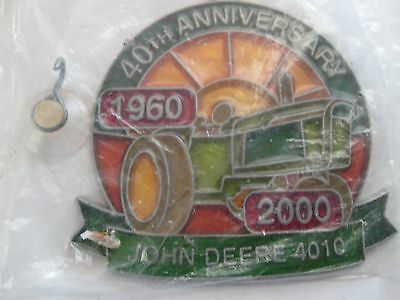 JOHN DEERE 40th Anniversary Stained Glass Window Ornament