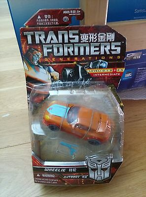 Hasbro Transformers Generations, Wheelie, Asia Exclusive, MOSC