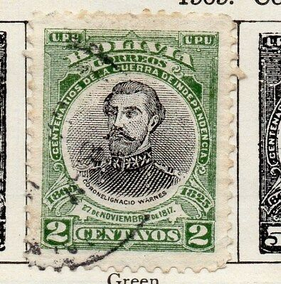 Bolivia 1909 Early Issue Fine Used 2c. 113755
