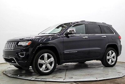 2015 Jeep Grand Cherokee Overland 4WD Overland 4X4 V6 Nav Htd & AC Seats Pwr Sunroof Must See and Drive Save