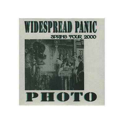 Widespread Panic authentic Photo 2000 tour Backstage Pass