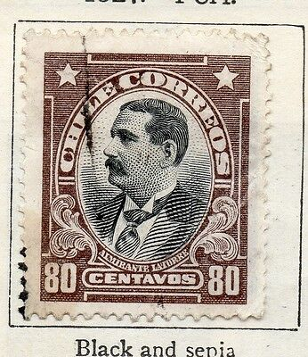Chile 1927 Early Issue Fine Used 80c. 112836