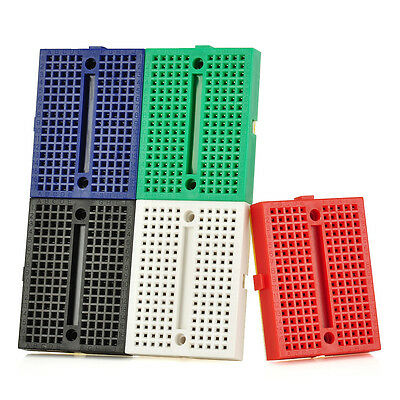 5PCS ZY-107 170 holes Prototype Printed Circuit Board Breadboard for Arduino