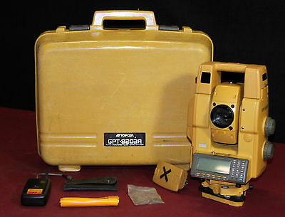 Topcon GPT-8203A Robotic Total Station!!