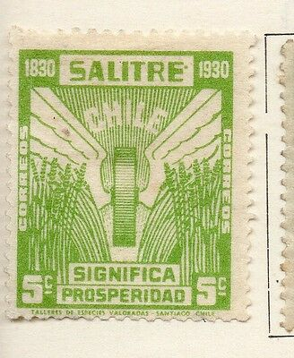 Chile 1930 Early Issue Fine Mint Hinged 5c. 112855