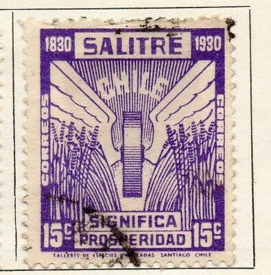 Chile 1930 Early Issue Fine Used 15c. 112858