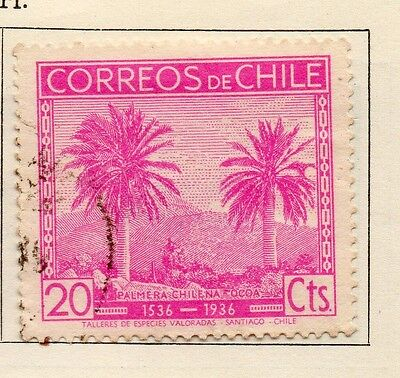Chile 1936 Early Issue Fine Used 20c. 112895