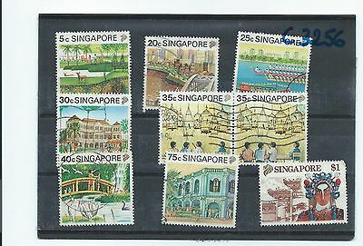 Singapore stamps. 1999 Tourism partial set used (T932)