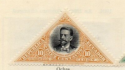 Ecuador 1908 Early Issue Fine Mint Hinged 10c. 113492