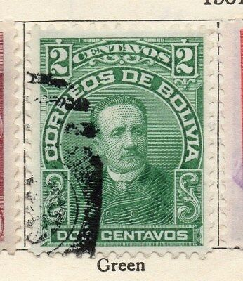 Bolivia 1901-04 Early Issue Fine Used 2c. 113751