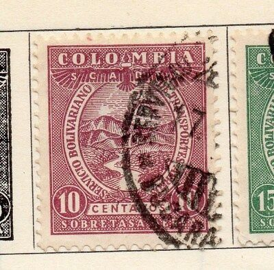 Colombia 1931 Early Issue Fine Used 10c. 113076