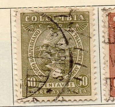 Colombia 1931 Early Issue Fine Used 50c. 113080
